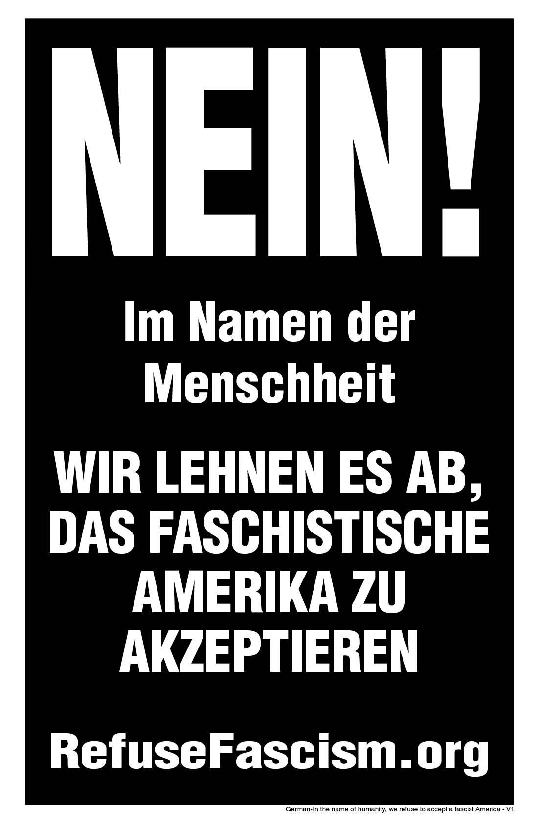 I Refuse Deutsch