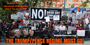 Drive Out The Trump / Pence Regime