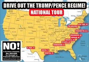 Refuse Fascism - Drive Out The Trump / Pence Regime