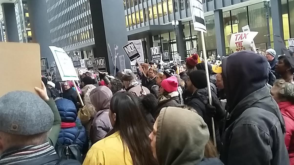Chicago: Rally to Stop Trump's #SwampCabinet and to Say #NOBANNOWALL!