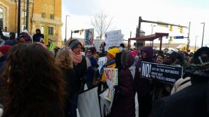 Cleveland: Hundreds March Against Muslim Ban, Border Wall