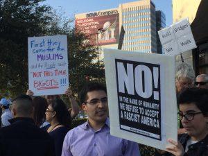 Houston, Feb 3: No Ban, No Wall