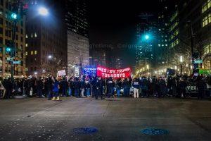Resist Trump Tuesday Hits Wall Street